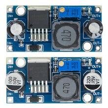 100 pièces/lot LM2596S LM2596 LM2596 ADJ DC DC module abaisseur 5V/12V/24V régulateur de tension réglable 3A