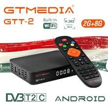 ТВ приставка gtmedia gtt2 dvb + t/t2/cable на android 2 8 Гб