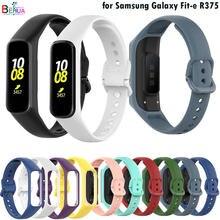 Behua pulseira de silicone para samsung galaxy fit-e r375 ajuste e pulseira inteligente substituição esporte pulseira acessórios cinto