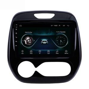 2 din Android samochodowe multimedialne Radio samochodowe dla Renault Captur CLIO 2011 2014 2015 2016 2017 2018 Samsung QM3 instrukcja A/C GPS