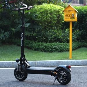 Image 5 - Flj 2400w adulto scooter elétrico com assento dobrável hoverboard pneu gordura kick scooter elétrico e scooter