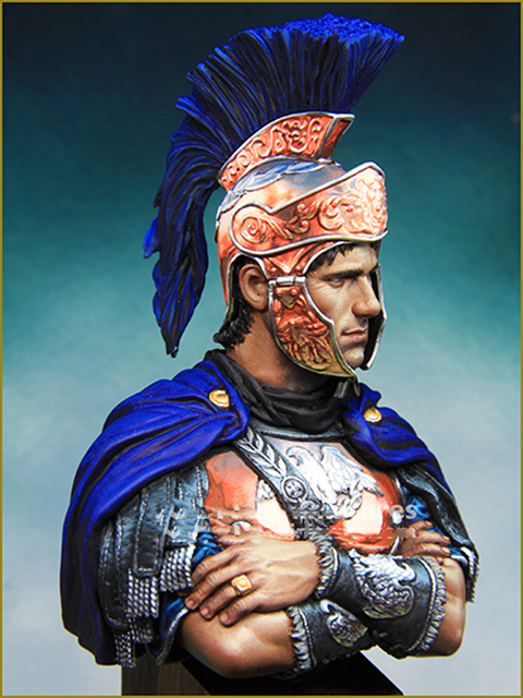 1/10 Ancient Warrior Rome Bust    Resin Figure Model Kits Miniature Gk Unassembly Unpainted