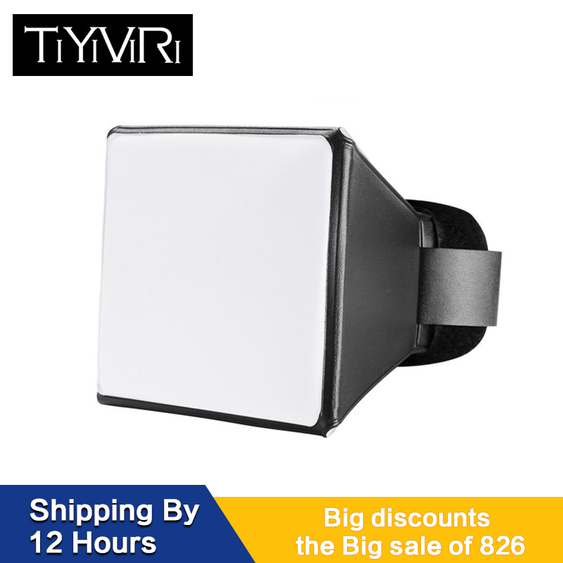 Photography Flash Softbox Diffuser Mini Softbox Kit Camera Photo Foldable Soft Box Flash For Canon EOS Nikon Speed Light