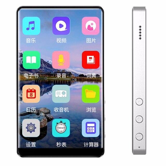 Nuovo lettore sportivo portatile MP4 Full Touchscreen 4 pollici MP4 E book lettore musicale Radio FM Video 8GB Walkman Movie Player