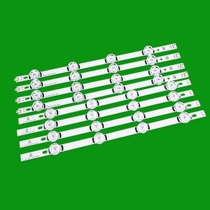807mm LED rétro-éclairage bande de lampe 8 led s pour LG 39 pouces TV 390HVJ01 lnnotek drt 3.0 39