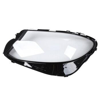 Car Headlight Lens Cover Durable Head Light Lamp Transparent Shell Cover, for Mercedes Benz W213 E200 E260 E300 E400 2016-2018