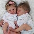 RBG 18 дюймов Aspen and Leif девочка/мальчик Близнецы реборн детские игрушки неокрашенные детали DIY чистые наборы подарки куклы LOL для девочек
