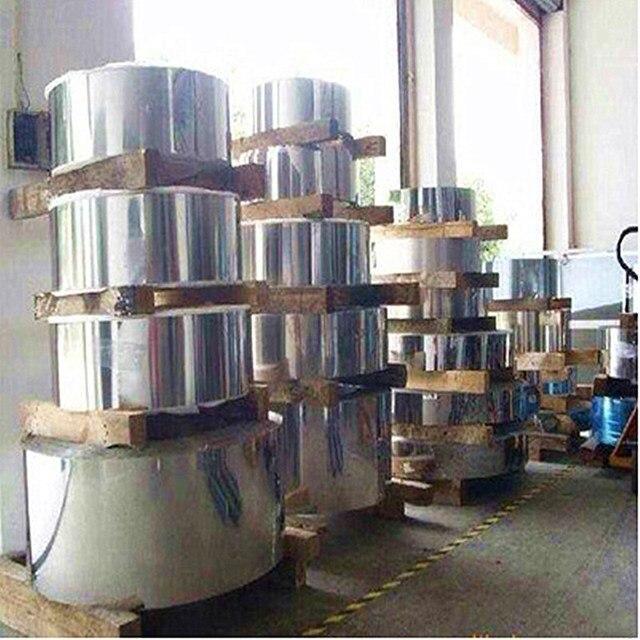 Feuille en acier inoxydable SS304 | 0.05x100mm, bande fine en aluminium inoxydable, toutes tailles en stock
