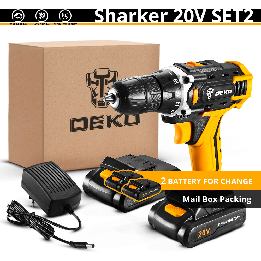 Sharker 20V SET2