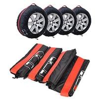 Acessórios de pneu quente veículo protetor de roda de carro capa de pneu de reposição caso poliéster inverno e verão carro auto pneus sacos de armazenamento
