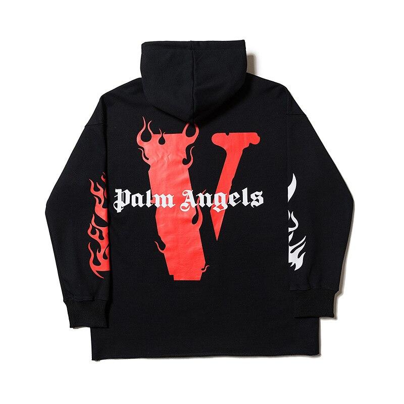 Men Women Hip Hop Sweatshirt letters printing Streetwear Fashion co-branding Hoodies Popular Hooded Pullovers vlone Hoodie