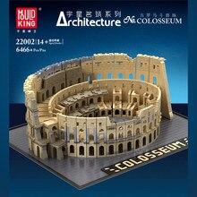 Seria filmów architektura miasto włochy Roman koloseum zestaw modeli do składania klocki Fit Creator Expert 10276 cegły zabawki dla dzieci