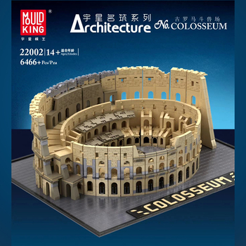 Movie Series Architecture City The Italy Roman Colosseum Model Kit Building Blocks Fit Creator Expert 10276 Bricks Toys For Kids lepin 17007 lepin creator architecture the robie house set legoing 21010 legoing creator architecture building block bricks toys