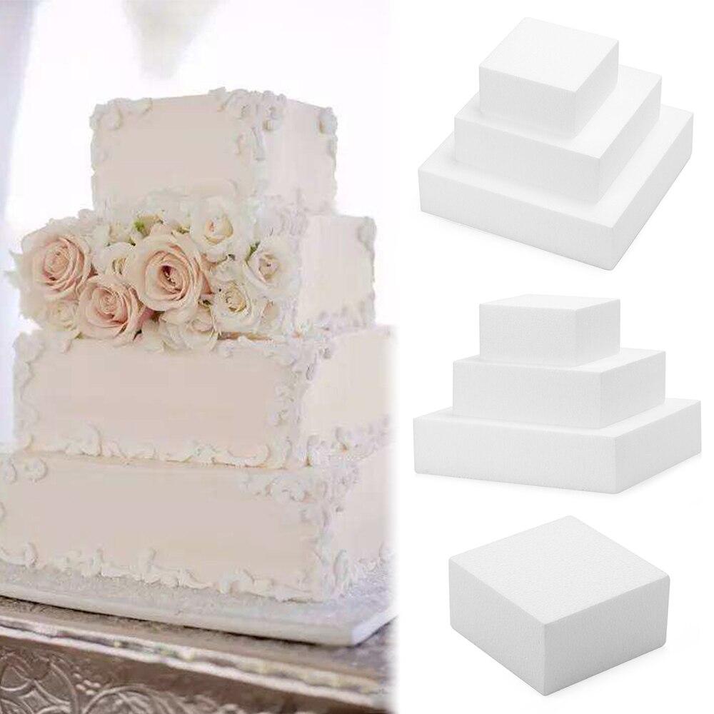 DIY Dummy Practice Model Heart Shaped Polystyrene Styrofoam Cake Foam Mould