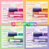 Sharkbang Nuovo Arrivo 5 Pz/pacco Stesso di Serie di Colore di Colore Del Gel Penna FAI DA TE Graffiti Disegno A Penna Pennarello Cancelleria Della Scuola Della Penna