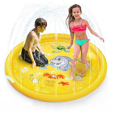 Paddling-Pool Water-Slides Garden Outdoor-Play Inflatable Children's