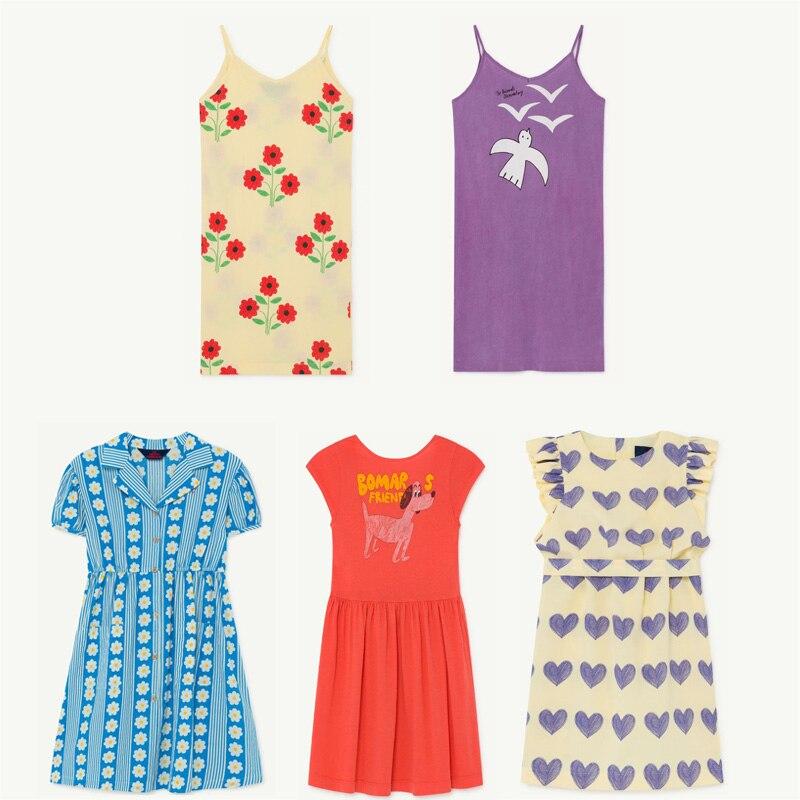 >Kids Dresses <font><b>2020</b></font> TAO Brand <font><b>New</b></font> <font><b>Spring</b></font> Summer Girls Fashion Print Short Sleeve Dress Baby Child Princess Loveley Dress Clothes