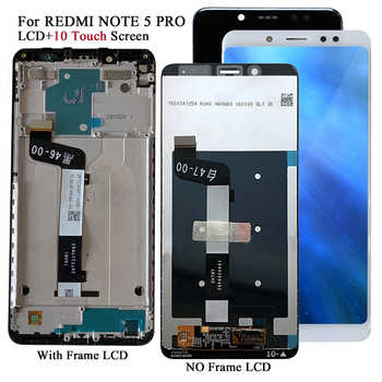 Display For Xiaomi Redmi Note 5 Pro/Note 5 Snapdragon 636 LCD Display 10 Touch Screen Replacement Tested Mobiles LCD Screen Part - DISCOUNT ITEM  17 OFF Cellphones & Telecommunications