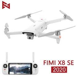 В наличии FIMI X8 SE 2020 камера Дрон RC вертолет 8 км FPV x8se Дрон 3-осевой карданный 4K камера HDR видео GPS RTF 1 батарея