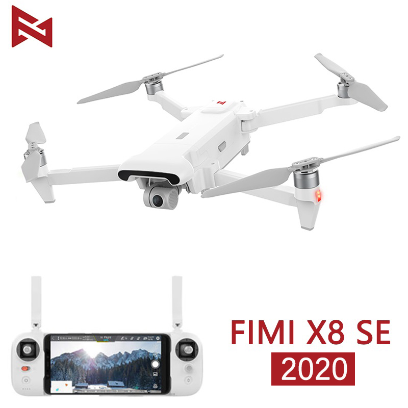 In Stock FIMI X8 SE 2020 Camera Drone RC Helicopter 8KM FPV X8se Drone 3-axis Gimbal 4K Camera HDR Video GPS RTF 1 Battery