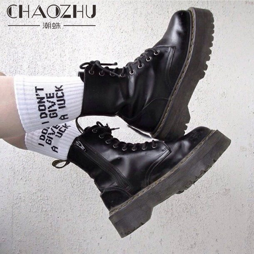 1pair funny words Print Warm Sockken Autumn Winter humor   Socks   Cotton Sox Grunge Style Girls Cool White Casuals awesome harajuku
