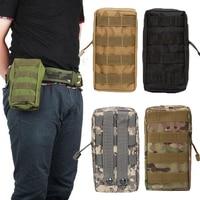 Portable Molle pochette étui extérieur militaire chasse taille Pack 600D Nylon Bolsos Militares sport tactique ceinture taille sac|Chasse Sacs|Sports et Loisirs -