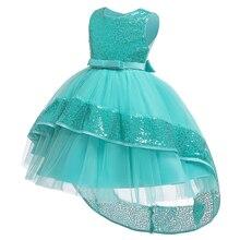 Высококачественное элегантное вечернее платье для выпускного вечера для девочек платье с цветочной вышивкой для девочек длиной до колена платье знаменитостей для девочек L9027