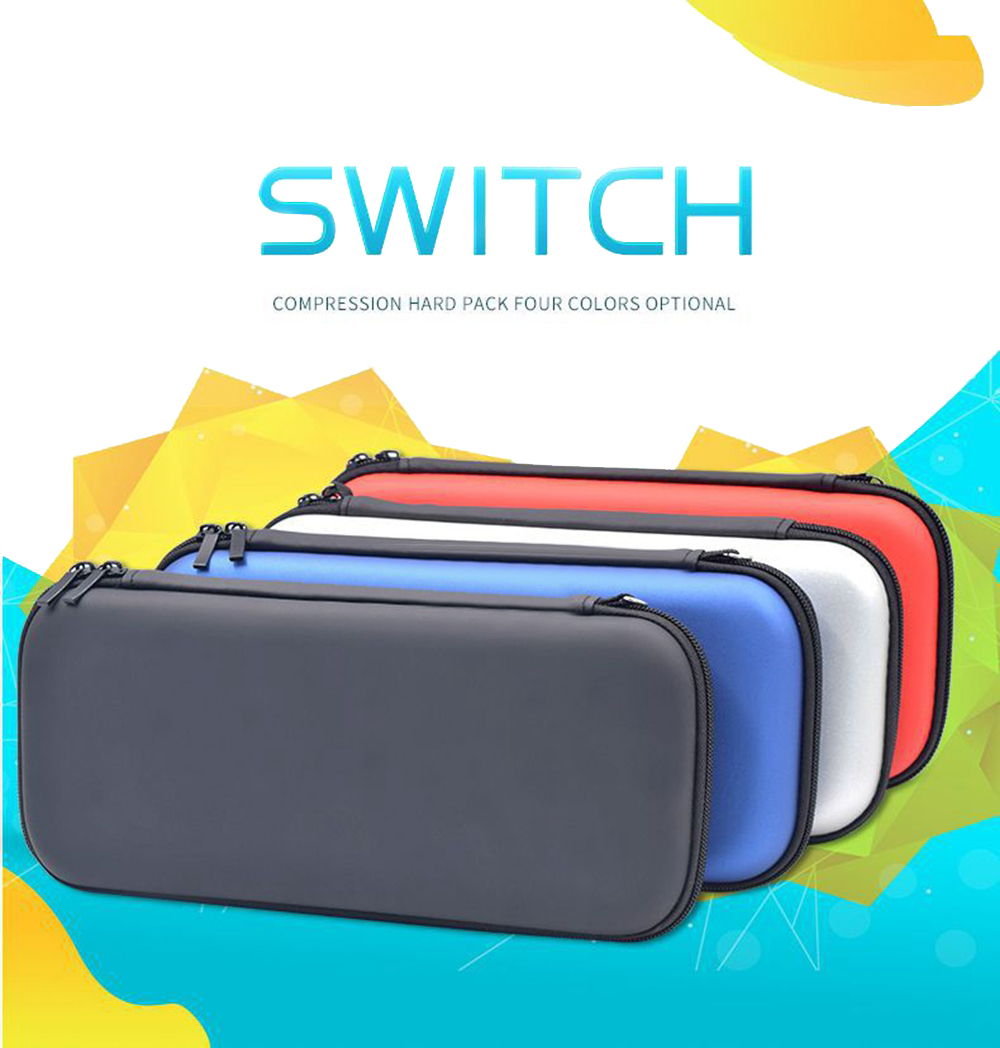 4 Colors EVA Hard Shell Protective Bag For NS Accessories For Nintend Switch Protective Bag For Game Consoles Switch Storage Bag