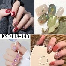 Наклейки для ногтей в корейском/японском стиле наклейки «сделай