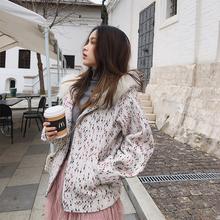 Mishow women 2018 short winter coat woolen coat tweed chic small women woolen co