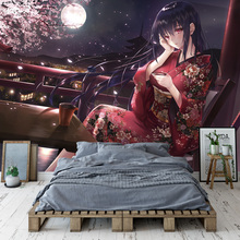 Beautiful Sakura girl Wallpaper Custom 3D Wall Papers Japanese anime Photo Wallpaper Mural Girls Kid Bedroom Cosplay Cartoon