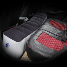 2019 New Inflatable Car Travel Bed Mattress for Auto Seat Accessories Back Seat Gap Pad Air bed Cushion Outdoor with Air Pump цена 2017