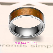 NFC Smart Ring Multifunctional Waterproof Intelligent Magic Smart Wear Digital Ring for All Android and Windows NFC Mobiles.Size(China)