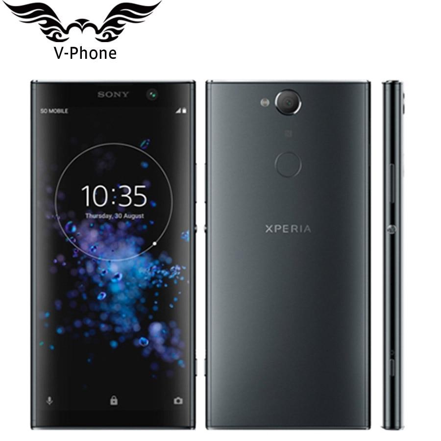 New Dual SIM Sony Xperia XA2 Plus H4493 6GB 64GB Mobile Phone 4G LTE 3580mAh 6 Inch Snapdragon Octa Core NFC 23MP Original Phone