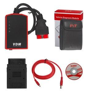 Image 3 - UCANDAS VDM OBD2 Code Reader Full System Wireless Diagnostic Tools for car support Wins Andriod V5.2 Lifetime Free Update Online