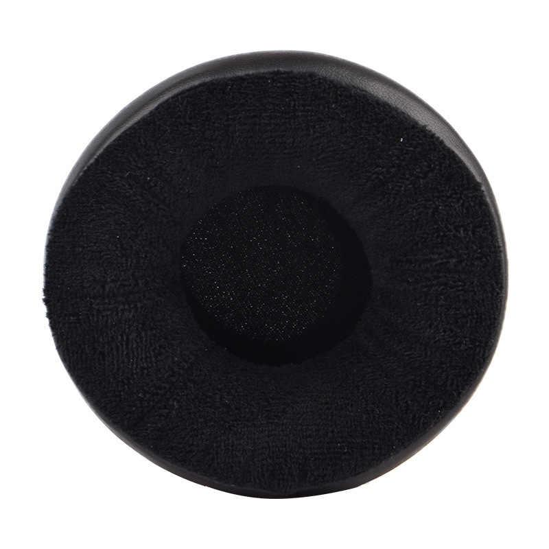 Almohadillas de repuesto de todos los tamaños de auriculares redondos gruesos de franela suave de repuesto almohadillas de oreja cojín 65/70/75/80 /85/90/95/100/105/110mm