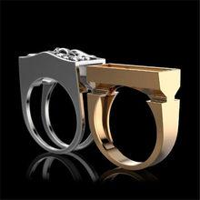 FDLK-Anillo de calavera para hombre, accesorio de moda, compartimiento secreto, ataúd conmemorativo, regalo, joyería de Hip Hop