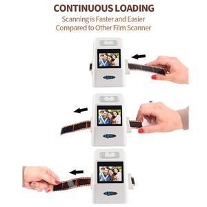 """Image 3 - 35mm Film Scanner 22 Mega Pixels Negative Slide Scanner 110 135 126KPK Digital Film Converter with 2.4""""LCD Support Russian"""