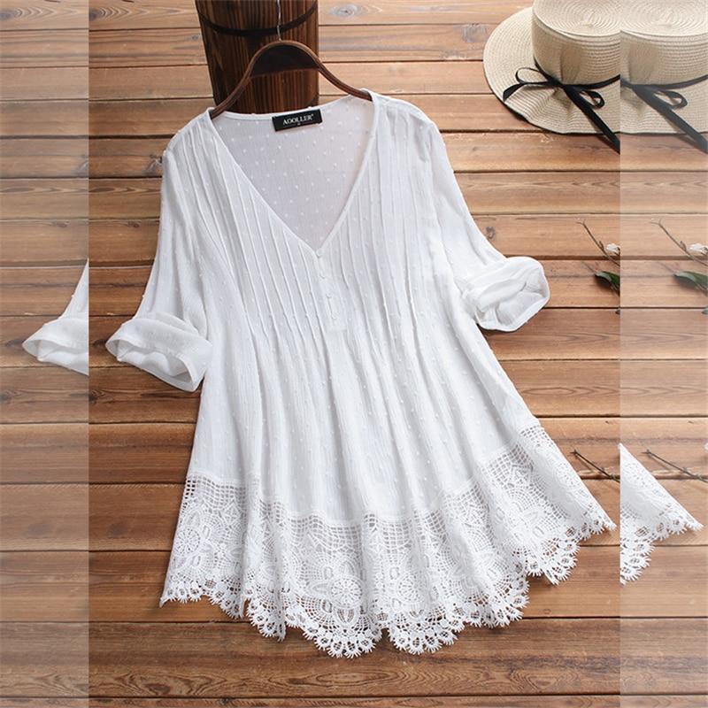 Vintage Womens Tops And Blouses Cotton Linen Autumn Blouse Shirt Women Female Clothes Ladies Casual Blusa Feminina Women Tees