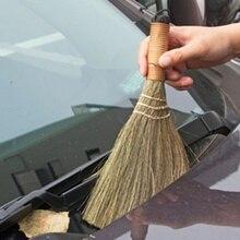 Бытовая метла ручной работы метла трава шелк чистые волосы гаджет Ретро метлы для дома пол инструмент для чистки автомобилей