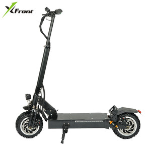 Xfront Adult Electric Scooter 60V/3200W Strong Power Kick hoverboard 11 inch fat tire skateboard Hydraulic Brake E Scooter