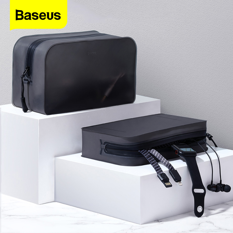Baseus Portable Phone Bag Case For iPhone Samsung Xiaomi Redmi Note 7 K20 Pro Phone Pouch Mobile Phone Accessories Storage Cover
