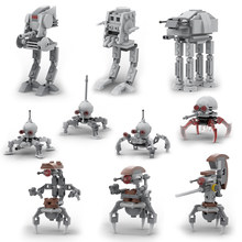 New Imperial Droideka Destroyer Dwarf Spider Sealed Clone Atat Atdp Walker Mini Building Block Kid Toy