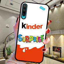 funda For Huawei Honor 8 Lite 8X 8C 9X 9 10 Lite 20 Pro V20 10i 20i 8S 8A Candy Chocolate cute Kinder Joy surprise egg case etui(China)