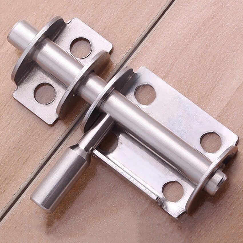 1pc Mini Door Bathroom wooden Door Latch, Thickened Stainless Steel Moistureproof Durable Door Bathroom Toilet Interior Lock