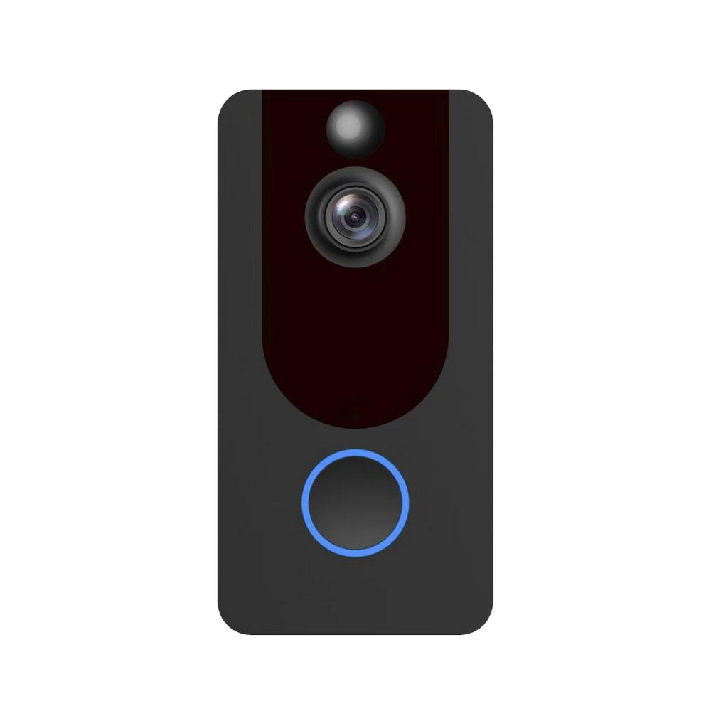 1080 HD Video Doorbell Wireless Doorbell Camera Automatic Induction IP64 Waterproof WiFi Security Camera Real-Time Video