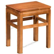 Lanzhou Ramen Table Stool Solid Wood Solid Wood Stool Wood Stool Solid Wood Household Square Stool Solid Wood Square