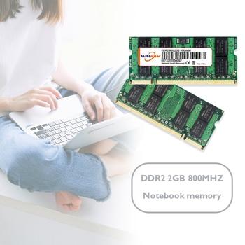 2GB DDR2 800MHz Memory Module 200 Pin Laptop Notebook RAM Memory Storage Board High Compatible Memoria Module Computer Laptop 1