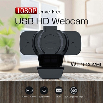 Hot-Universal Webcam Lens Cap Dust Cover for Logitech HD Pro Webcam C920 C922 C930E Protects Lens Cover Accessories image