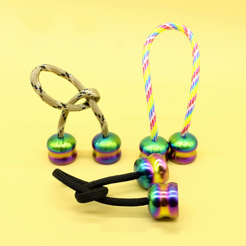 Mini Anti-stress Begleri Metal Fidget Toys Multicolor Stress Relief Boys Girls Baby Birthday Surprises Funny Gifts Sensory Toys